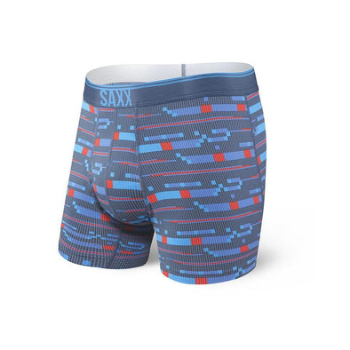 Saxx Quest Boxer Brief Blue Assembly Stripe SXBB70F-BAS
