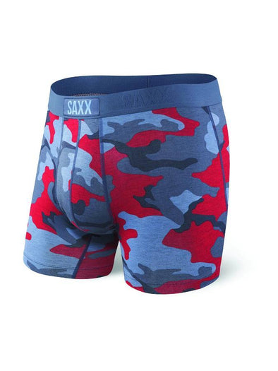 Saxx Vibe Boxer Brief Red Super Camo SXBM35-LBC