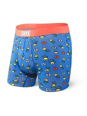 Saxx Vibe Boxer Brief Blue Pineapple Bash -SXBM35 PNB