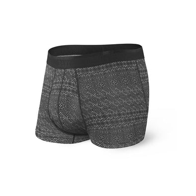 Saxx Platinum Boxer Brief SXBB42F Black Pattern Band PAB