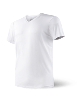 Saxx Undercover V-Neck Shirt-White