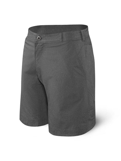 Saxx New Frontier Shorts-Black Heather SXTX27-BHT