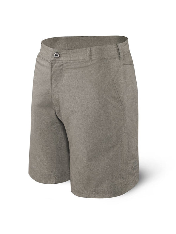 Saxx New Frontier Shorts-Clay Heather SXTX27-CLH