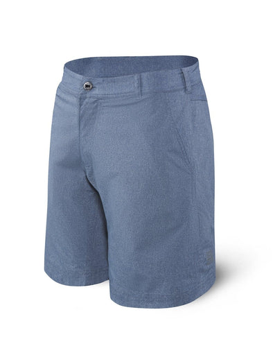 Saxx New Frontier Shorts-Navy Heather SXTX27-NHT