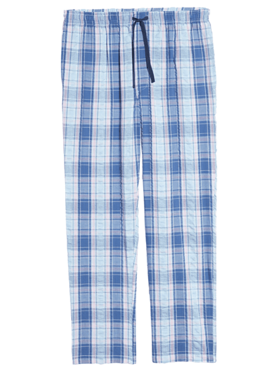 Cotton Pyjama Pants Rosy Chambray 12125150 602