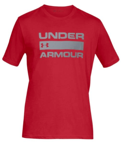 UNDER ARMOUR Team Issue Wordmark Top Red 1329582 600