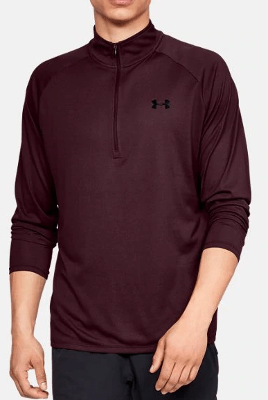 UA Tech 2.0 1/2 Zip Long Sleeve - 1328485 - 601