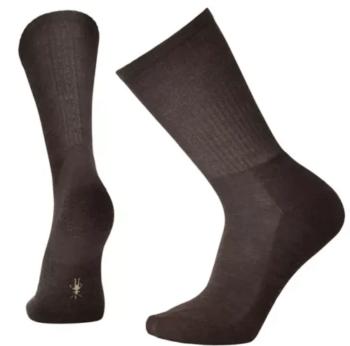 Smartwool Heathered Rib Crew Socks Chestnut SW0SW164207-L