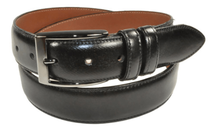 Bench Craft Leather Belt - 3558 1 Black
