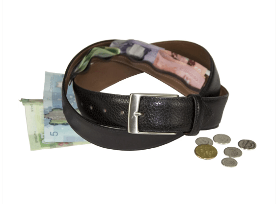 Bench Craft Leather Money Belt 4018