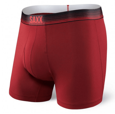 Saxx Quest Boxer Brief Red Ombre Stripe SXBB70F-ROS
