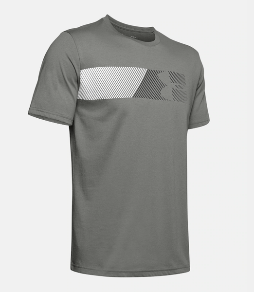 Under Armour Fast Left Chest T-Shirt - Gravity Green 1329584 388