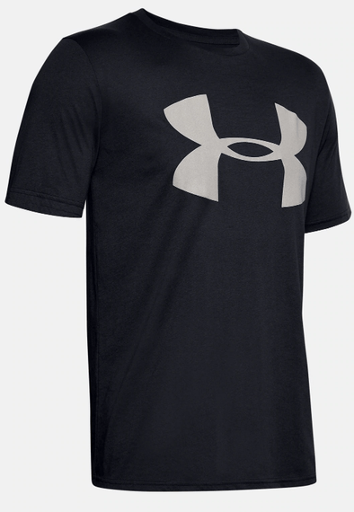 Under Armour UA Black Big Logo Reflective SS 1351617-001