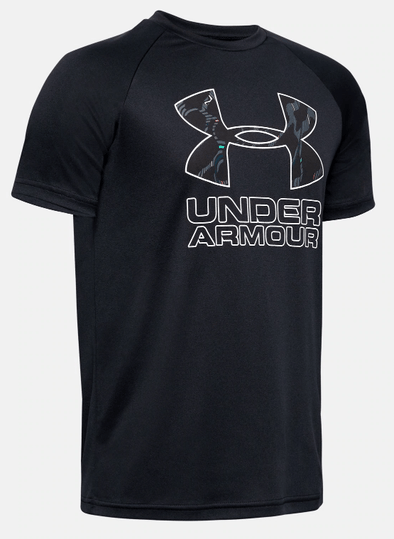 Under Armour UA Black Tech Hybrid Prnt Fill SS 1354000 001