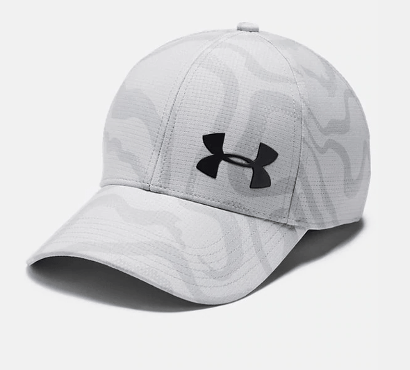 Under Armour UA Printed AV Core Hat Halo Grey 1351480-014