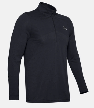 Under Armour UA Seamless 1/2 Zip Black 1351452-001