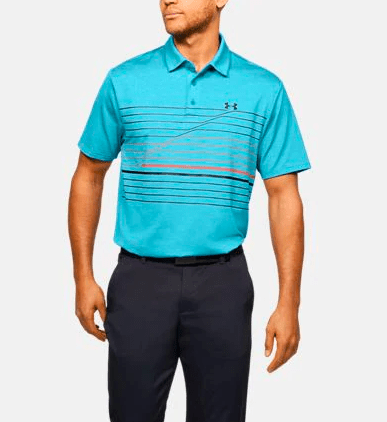 Under Armour UAPlayoff Polo 2.0 Rift Blue 1327037 450