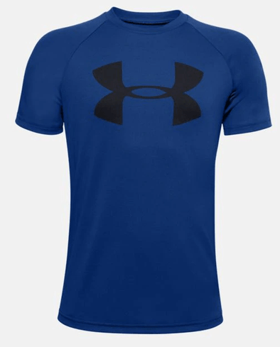 Under Armour UA Tech Big Logo SS Blue 1351850-400
