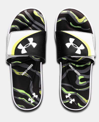 Under Armour UA Ignite VI Morph Slides Black 3022710 101