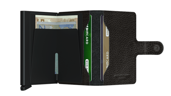 Secrid Mini Wallet- Veg Black