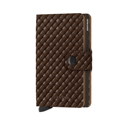 Secrid Mini Wallet- Basket Brown