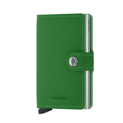 Secrid Mini Wallet- Crisple Apple Green