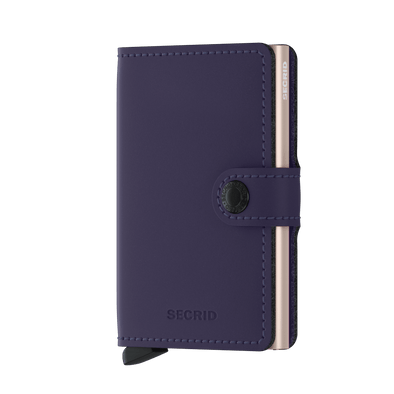 Secrid Mini Wallet- Matte Purple Rose