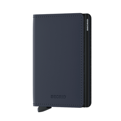 Secrid Slim Wallet - Matte Night Blue