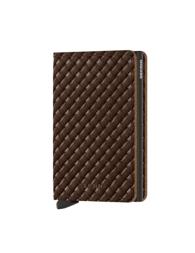 Secrid Slim Wallet- Basket Brown
