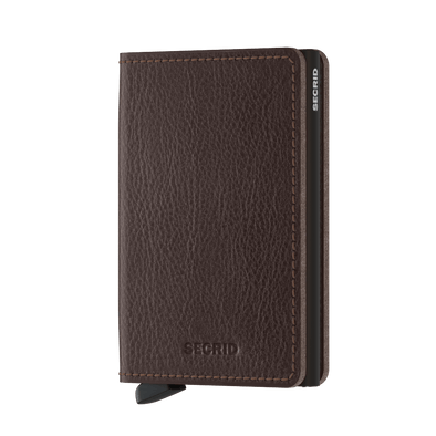 Secrid Slim Wallet- Veg Espresso Brown