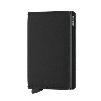Secrid Slim Wallet- Yard Black