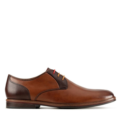 Clarks Citi Stride Lace-up Shoe - Tan Combo - 26153371