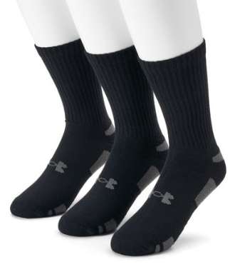 Under Armour Six Pack Performance Tech Crew Sock - U6786C6
