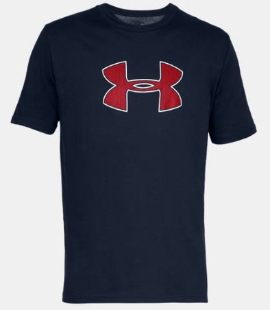 Under Armour Big Logo Short Sleeve T-Shirt - 1329583 -408