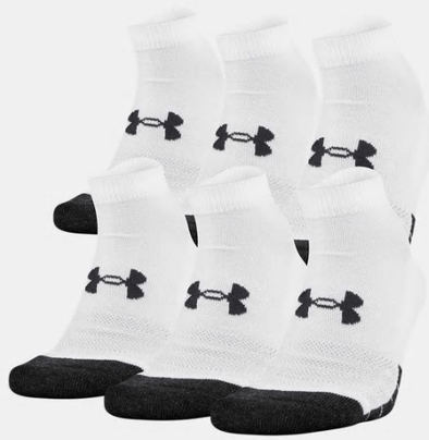 Under Armour Performance Tech Ankle Sock 6 Pack U6784C6