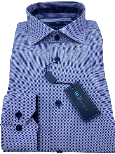 Blu by Polifroni Sport Shirt-B 2049344 70 100% Cotton