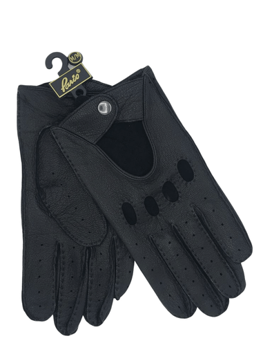 Paris Glove Driving Glove 6G001 6-30001 Black