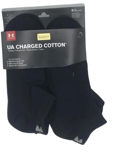 Under Armour Charged Cotton Lo Cut Sock U673