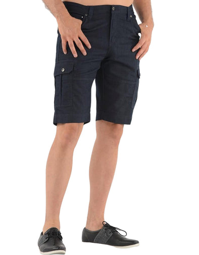 Lois Tom Cargo Pocket Short - Navy - 1816770000 - 33