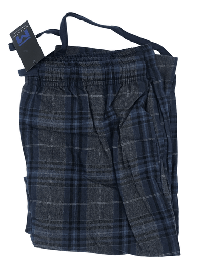 Charcoal and Navy Flannel Pyjama Bottom