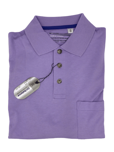 Mauve Miller Performance Polo 51845