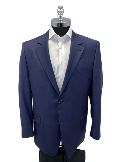 Navy Sports Coat Slim Fit 6655A2 Size 48S Only