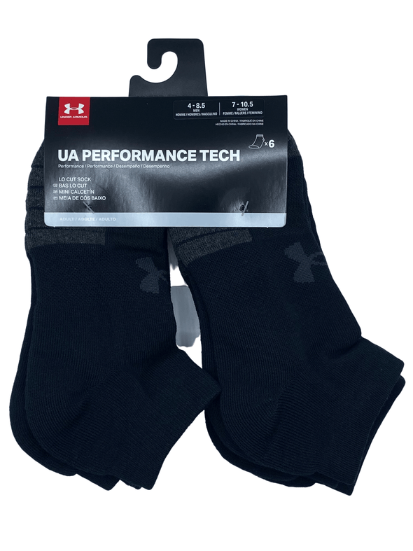 Under Armour Charged Cotton Lo Cut Sock Black U6774C6 001