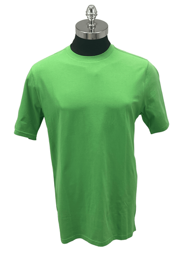 Cotton Reel Crew T Shirt 56801 Leaf Green