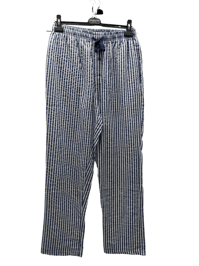 Cotton Pyjama Pants Coastal Blue 12125150 413