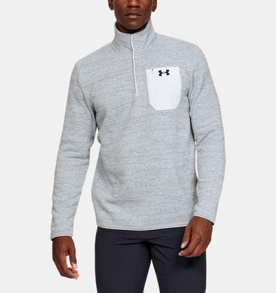 Under Armour Specialist Henley 2.0 - 1316276 - 014 Halo Grey