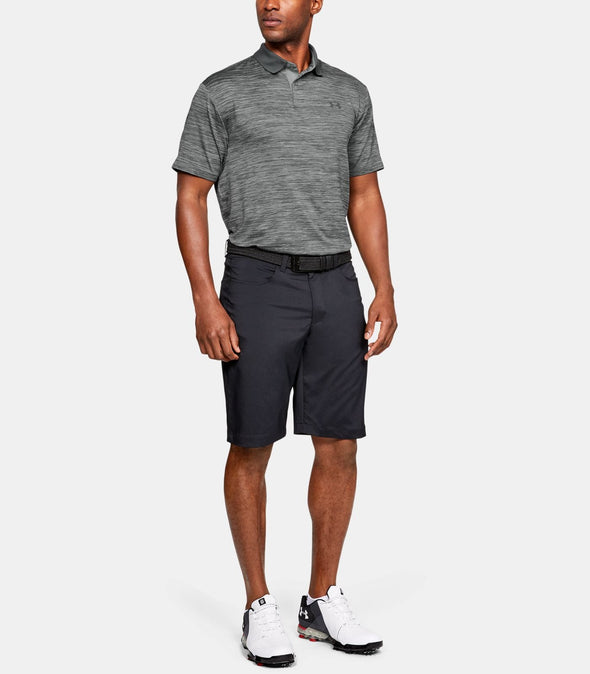 Men's Under Armour UA Performance Polo Steel Black 1342080 035