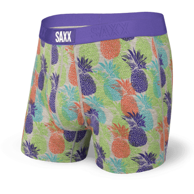 SAXX Ultra Boxer Brief - Green CMYK Pineapple - SXBB30F YPM