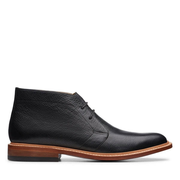 Bostonian Soft Leather Boot Black - N016 - 26145698