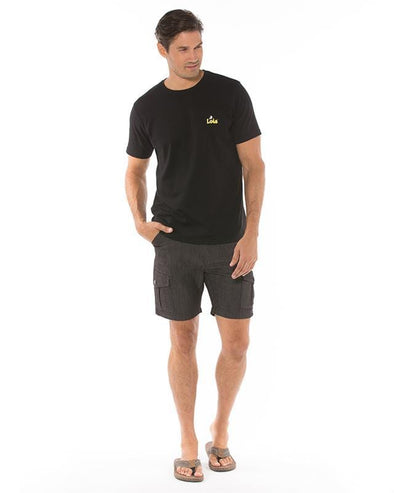 Lois Tom Cargo Pocket Short - Charcoal - 1816 7700 - 97